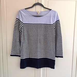 J Crew striped t-shirt - Great condition - small